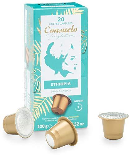 Consuelo - Cápsulas de café de Etiopía compatibles con...
