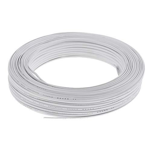 IPOTCH Cable de Instalación de 100 M/Cable de Instalación/Cable de Datos/Línea Telefónica, RJ11 Typ