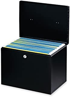 Buddy Products Hanging File Without Folders, Steel, 10 x 10.875 x 13.75 Inches, Black (0604-4)