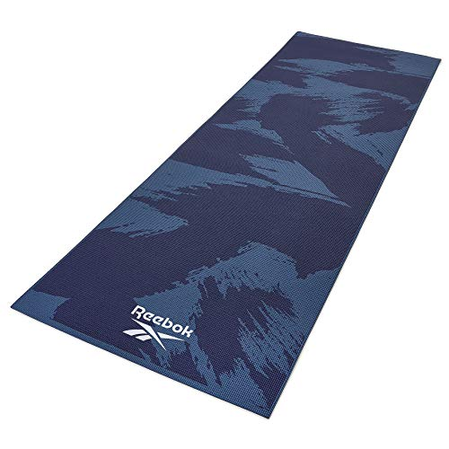 Reebok Yogamatte Yoga Matten, Dunkelblau, 173 x 61 x 0.4 cm
