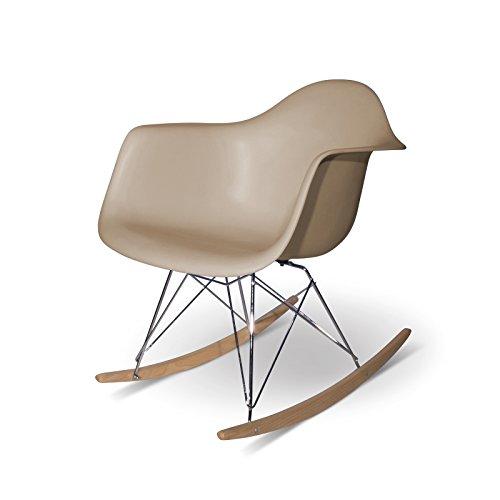 Aryana Schaukelstuhl Home Replica Eames beige