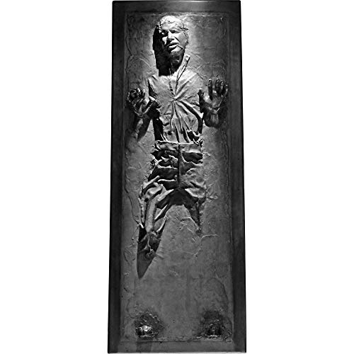 FATHEAD Han Solo in Carbonite-Life-Size Officially Licensed Star Wars Removable Wall Decal, Multicolor