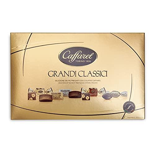 Caffarel Confezione Regalo Cioccolatini I Grandi Classici, scatola 380g