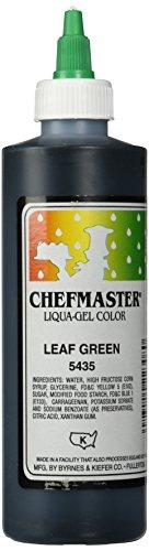 Chefmaster Liqua-Gel Food Color, 10.5-Ounce, Leaf Green