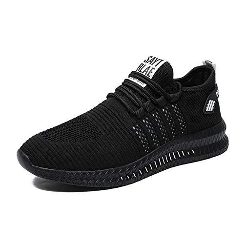 FUJEAK Men Shoes Fashion Trainers Running Sneakers Men Sport Walking...