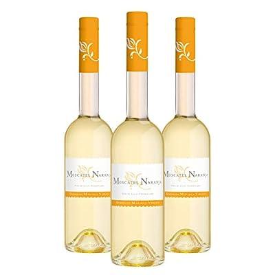 Pack Moscatel Naranja - 3 bottles 50cl - Sweet, flavoured liquor wine.