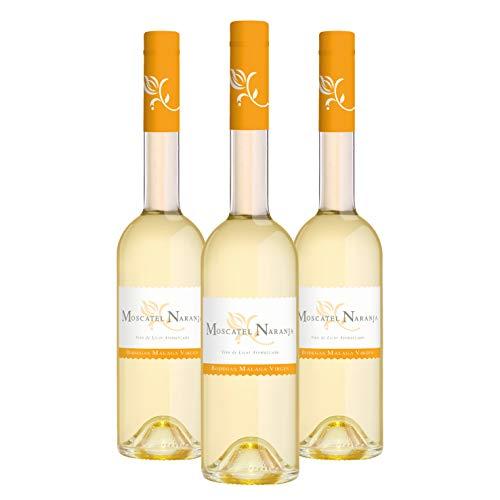 Moscatel Naranja - Pack 3 botellas de 50cl - Vino de licor dulce aromatizado