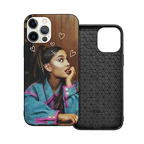 Carcasa para iPhone 12, diseño de Ariana Grande Ag Rainbow