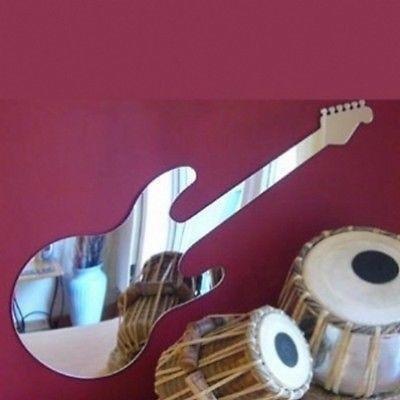 Servewell Dean Style - Espejo de pared para guitarra eléctrica (60 x...