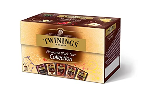 Colección Twinings con sabor a té negro 40 g (5 variedades x 4 bolsas)