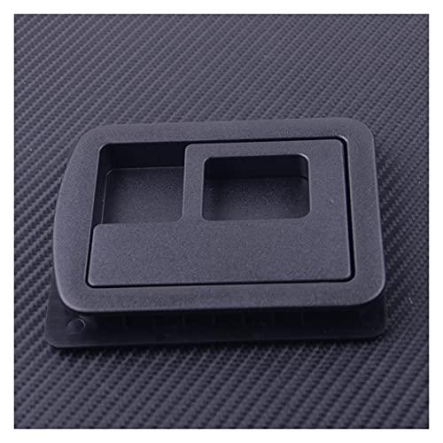CLEIO Coche trasero Trunk forro Botón de carga Carpeta Cubierta de manija superior Bezel 8E5863627 Ajuste para Audi A3 A4 S4 A5 S5 A6 S6 A8 2013 2014-2016
