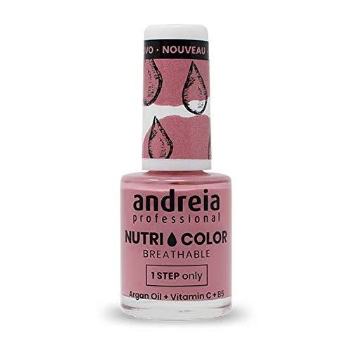 Andreia Professional NutriColor - Vernis à Ongles Vegan Respirant NC12 Rose - 10.5ml