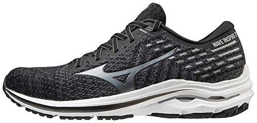 Mizuno Men's Wave Inspire 17 Running Shoe, Black-Shade, 12.5