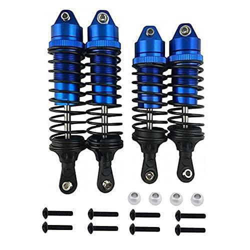 RUIZHI 4 Stücke RC Parts Stoßdämpfer Vorne und Hinten Aluminiumlegierung RC Stoßdämpfer für 1/10 RC Auto Traxxas Slash 4×4 4WD