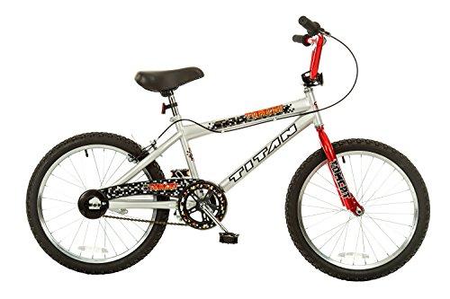 TITAN Tomcat Boys BMX Freestyle Bicycle (20-Inch Wheel Bike)