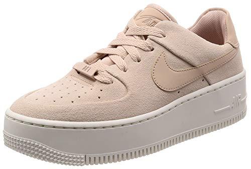 Nike W AF1 Sage Low, Zapatos de Baloncesto para Mujer, Multicolor (Particle Beige/Particle Beige/Phantom 201), 40 EU