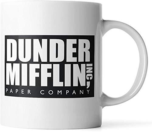 WuRen SYNCHKG111723 Dunder Mifflin The Office - Taza de café divertida de Donbicentenario, talla única, multicolor