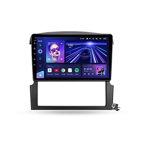 Android 10 GPS Navegación del Coche Estéreo para Kia Sorento BL 2002-2011 con 9 Pulgada Táctil Soporte Split Screen/FM Am RDS Radio/Control del Volante/Carplay Android Auto,7862: 6+128gb