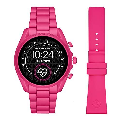 Smartwatch Michael Kors Bradshaw 2 Gen 5 Fucsia MKT5099 con doppio cinturino