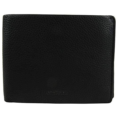 Maïtre Unisex Brieftasche Schwarzerden aus Leder Billfold