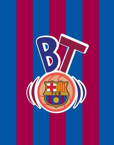 Exclusiv*FC Barcelona Fleecedecke 120x150cm Tagesdecke EDEL NEU