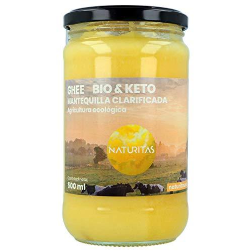 Naturitas Ghee Mantequilla Clarificada Bio | 500ml | Agricul
