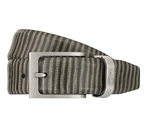 Joop! Gürtel Herrengürtel Ledergürtel Grau 7525, Länge:110, Farbe:Grau