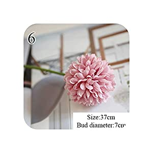 Daydreaming-shop 1 Pc Flower Ball Simulation Road Cited Artificial Flower Wall Fake Flower Home Decoration Wedding Holding Flower-6-
