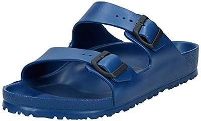 Birkenstock Unisex Arizona Essentials EVA Navy Sandals - 42 M EU / 11-11.5 B(M) US Women / 9-9.5 D(M) US Men