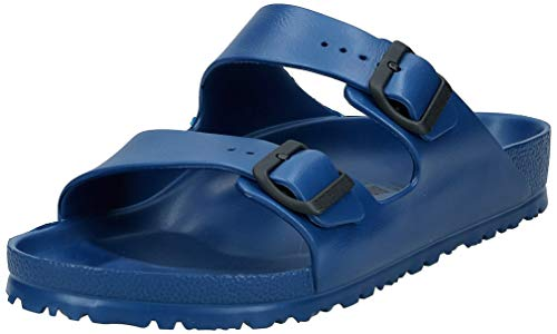 Birkenstock Unisex Arizona Essentials EVA Navy Sandals - 43 M EU