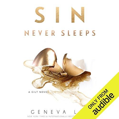 Sin Never Sleeps audiobook cover art