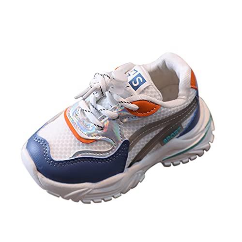 YWLINK Zapatillas para NiñAs Zapatillas De Deporte para NiñOs NiñOs Zapatillas De Correr Entrenadores Zapatillas De Deporte para Correr Zapatos para Caminar Al Aire Libre Ligero Y Transpirable
