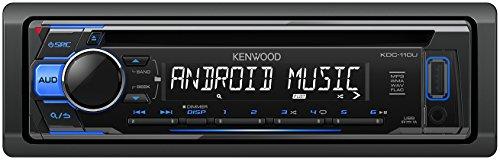 Kenwood KDC-110UB CD-Receiver mit frontseitigem USB/AUX-Eingang schwarz