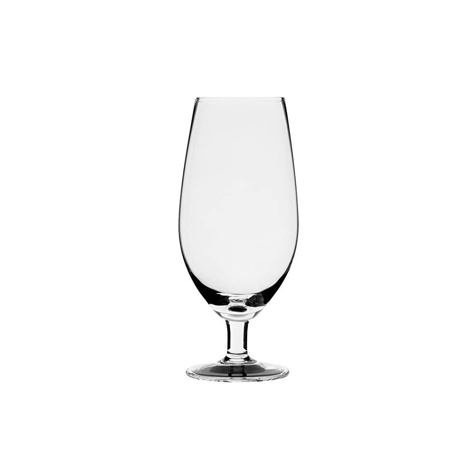 10 Strawberry Street Regina 12 Oz Beer/Water Goblet, Set of 4, Clear Glass