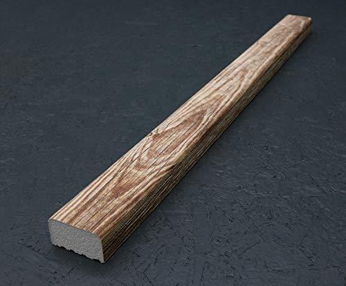 Holzbalken 9cm x 5cm x 120cm (1kg) aus Styropor, Kantholz für Wohnzimmer, Küche, Gewerbe, innen & außen – New York