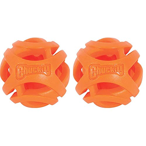Chuckit! Large Durable Breathe Right Dog Ball, 2 Pack