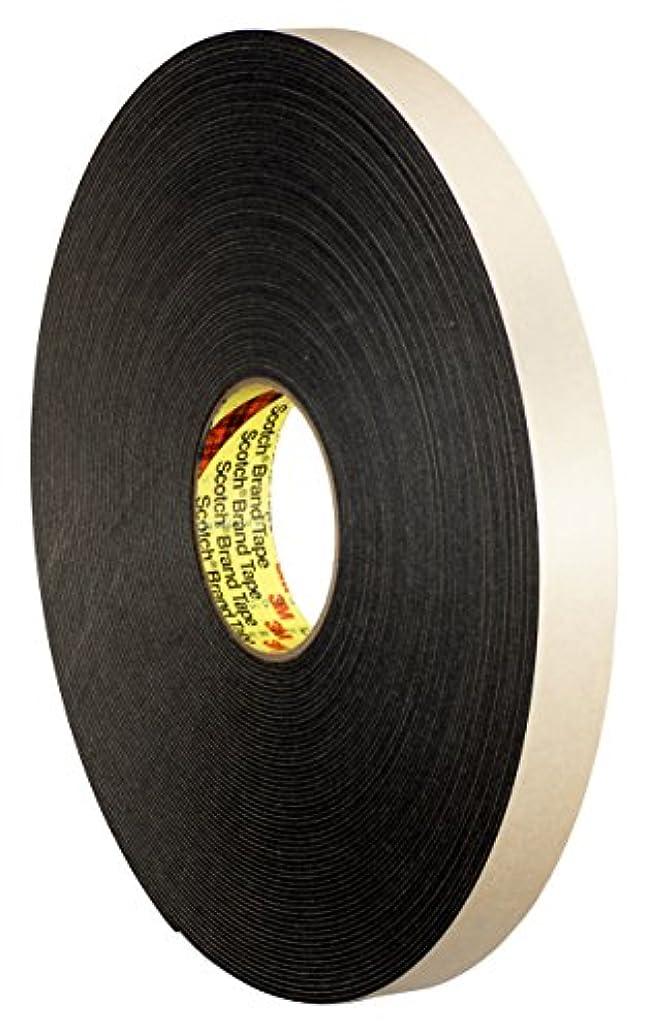3M 23529-case Double Coated Polyethylene Foam Tape 4496, 3/8