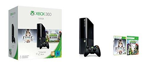 Xbox 360 - Consola De 500 GB + Plants VS Zombies + Fable Ann