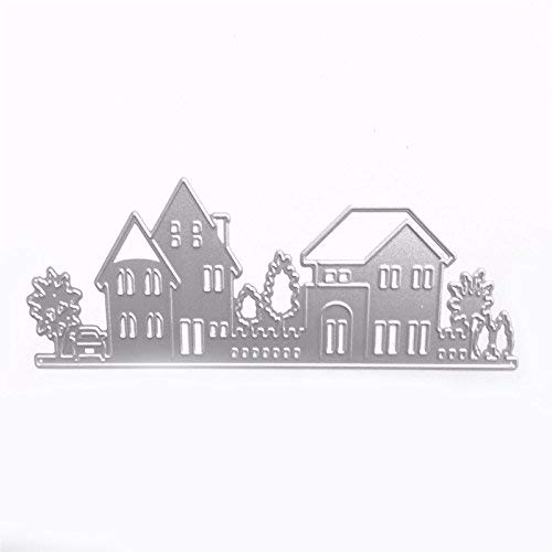 House Style Embossing Cutting Dies Stencil Stamps for DIY Scrapbooking...