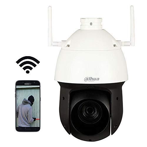 DAHUA SD49225T-HN - Cámara de vigilancia con WIFI para Exterior | HD 1080P | Zoom Óptico y Digital | Videosensor | Hasta 20 usuarios | Color Blanco