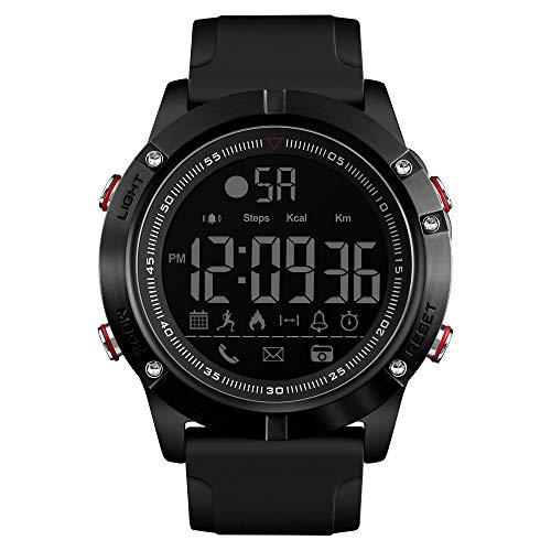 SKMEI Smart Watch Analog Digital Schrittzähler Kalorien Fitness Tracker Uhr Mode Lässig Sport Armbanduhr Hintergrundbeleuchtung BT Multifunktions Herren Uhren für Android und iOS