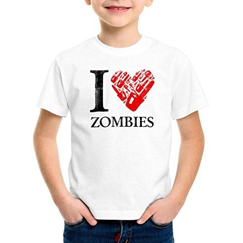 style3 Love Zombies T-Shirt für Kinder Walking Zombie Dixon The Halloween Dead, Größe:116