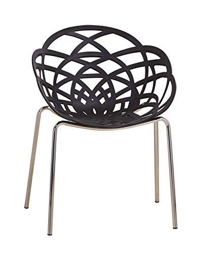 Euro Tische Esszimmerstühle modern, stilvoll & bequem - perfekt geeignet im Esszimmer, Wohnzimmer &...