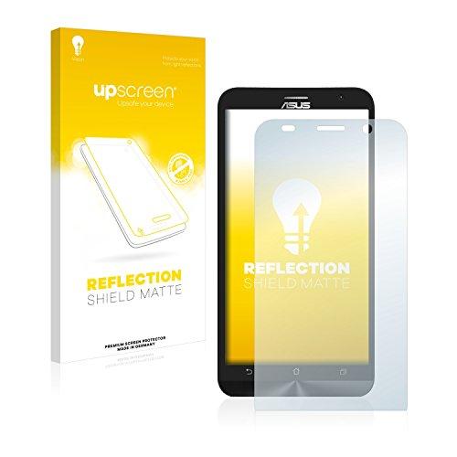 upscreen Entspiegelungs-Schutzfolie kompatibel mit Asus ZenFone 2 ZE551ML – Anti-Reflex Bildschirmschutz-Folie Matt