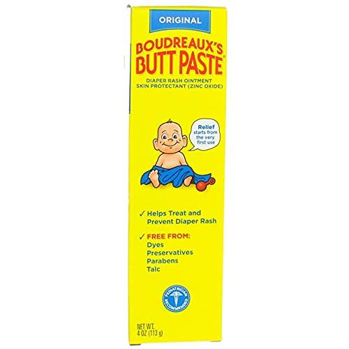 Price comparison product image Boudreauxs Butt Paste Diaper Rash Ointment 4oz (5 Pack)