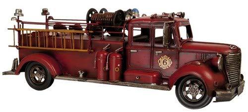 Modello camion dei pompieri 43 x 16 x 14 cm.
