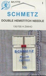Schmetz Double Hemstitch/Wing Needle Size 16/100