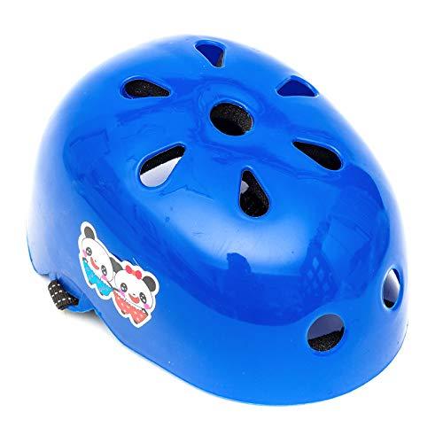 Universal Niña Infantil Azul Protector Casco 2-5 Años Scooter Skate Patines Cuchillas...