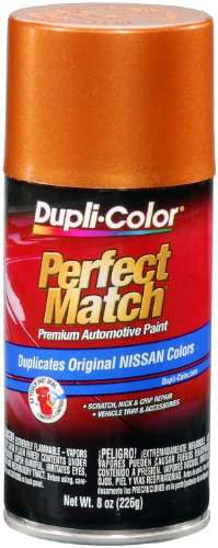 Dupli-Color - BNS0503 Orange Mist Metallic Nissan Perfect Match Automotive Paint - Aerosol, 8 oz.