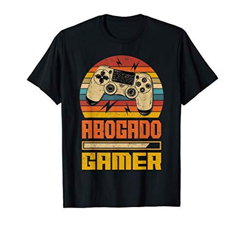 Abogado Gamer Camiseta